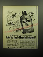 1950 Palmolive After Shave Lotion Advertisement