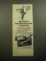 1950 Edgeworth Pipe Tobacco Advertisement - cartoon by William Steig - No hump!