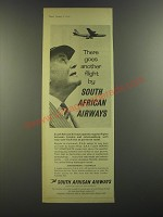 1964 South African Airways Ad - There goes another flight by South African