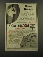 1909 Keen Kutter Tools Ad - Home Repairs