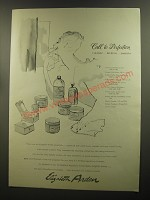 1944 Elizabeth Arden Skin Care products Ad - Call to perfection