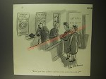 1944 Cartoon by Helen E. Hokinson - But if you have tickets it can't be a good show