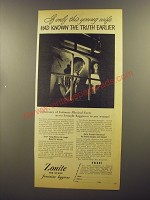 1945 Zonite Feminine Hygiene Ad - If only this young wife had known the truth