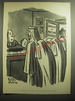 1959 Cartoon by Peter Arno - Are you positive you had five when you started