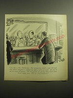 1959 Cartoon by Syd Hoff - Al, this is Mr. McGivney. His promotion