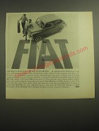 1959 Fiat 600 Sedan Ad - The most satisfying car you ever owned