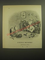 1950 Cartoon by William Steig - Everyday Histrionics Adult Know-How