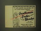 1950 Gentlemen Prefer Blondes Musical Ad - A vastly enjoyable song-and-dance