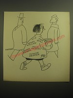 1946 Cartoon by Otto Soglow - CIO Mike Quill Henry Wallace PAC Philip Murray