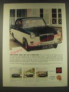 1965 MG Mk. IV Magnette Sports Saloon Ad - The spirit and joy of a true MG
