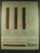 1965 Wills Castella Cigars Ad - Unwrap the finely textured Connecticut wrapper