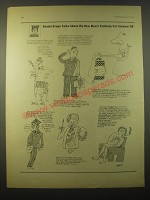 1966 Cartoon by Michael Heath - Dennis Grope talks men's fashion