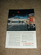 1955 Lincoln Ad, Outstanding Performance!!!