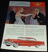 1955 Red Cadillac Ad, Favorite of Nations!!