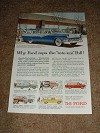 1956 Ford Wagons Ad, Parklane Squire Ranch +!
