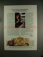 1984 Rolex Day-date Chronometer Watch Ad, w/ Franco Zeffirelli!