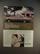 1985 Jaguar Vanden Plas Car Ad - Heritage of Coachbuilders!