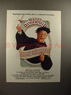 1986 Back to School Movie Ad, w/ Rodney Dangerfield!