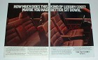 1986 2-page Volvo 760 Turbo Car Ad - Better Sit Down!