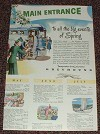 1948 Greyhound Bus Ad, Main Entrance Events of Spring!