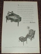1947 Baldwin Grand Piano Ad, Magic Spell of Music!!