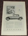 1927 Packard Eight Car Ad - Luxury NICE!!