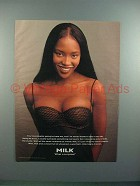 1995 Milk Ad w/ Naomi Campbel