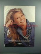 1995 Milk Ad w/ Christie Brinkley