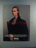1995 Milk Ad w/ Iman - What a Surprise!