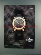 2004 Rolex Cestello Cellini Watch Ad - Private Affair