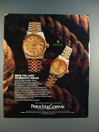 1985 Rolex Datejust Chonometer and Lady-Date Watch Ad!