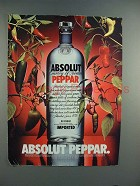 1996 Absolut Vodka - Absolut Peppar Ad