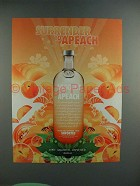 2005 Absolut Apeach Vodka - Surrender to Apeach Ad!