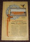 1925 Parker Duofold Duette Pen Ad, Chief Attraction!!