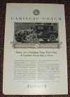 1925 Cadillac Coach V-63 Closed Car Ad, Day is Here!!