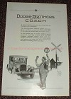 1925 Dodge Special Coach Car Ad, Railroad Crossing!!!
