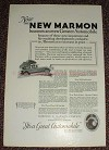 1925 Marmon Car Ad, Becomes an Even Greater Automobile!
