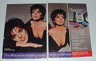 1987 Revlon Custom Eyes Ad w/ Liza Minnelli