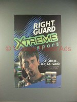 2001 Right Guard Deodorant Ad w/ Tom Green