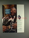 2001 One Touch Ultra Ad w/ B.B. King - Jam