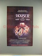 1987 House II Movie Ad