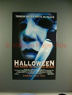 1995 Halloween: The Curse of Michael Myers Movie Ad