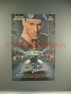 1995 Street Fighter Movie Ad - Jean-Claude Van Damme