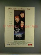 1996 If These Walls Could Talk Movie Ad - Cher