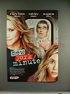 2004 New York Minute Movie Ad - Olsen Twins