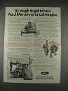 1977 Ford Ad w/ Bill Cosby - Tough to be a Ford Engine!