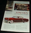 1952 Lincoln Capri Car Ad, NICE!!!