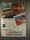 1978 Kodak Colorburst Camera Ad w/ Dick Van Dyke NICE!!