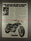 1978 Yamaha SR500 Motorcycle Ad, Time Has Come Again!!
