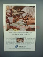 1964 Sheaffer's Desk Set Pen Ad - Wedding Gift
